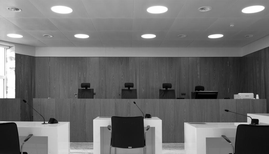 Zittingszaal 11 Gerechtshof Amsterdam