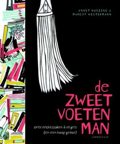 Cover van 'De Zweetvoetenman'