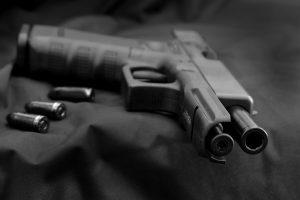 Glock 17 met open slede