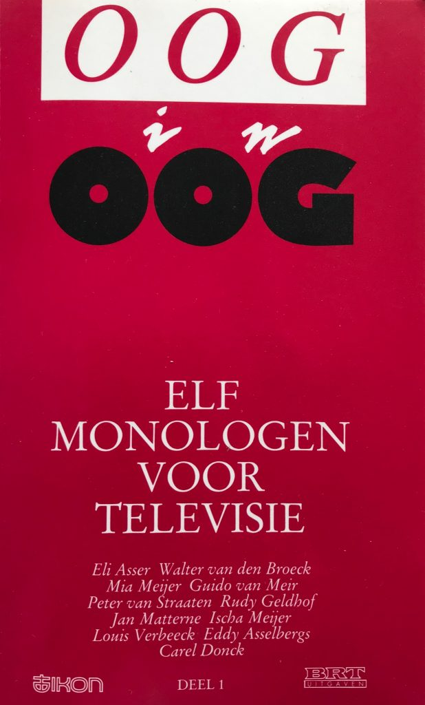 Cover Oog in Oog
