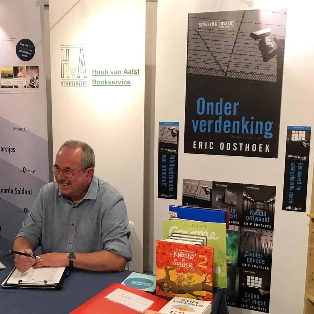 All Fiction wordt op de Libris|Blz Najaarsbeurs in Hoevelaken vertegenwoordigd door Huub van Aalst Bookservice