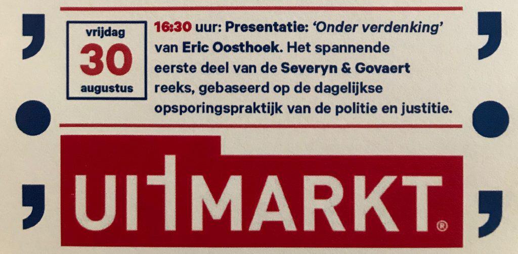 Advertentie in Het Parool van 23 augustus jl.
