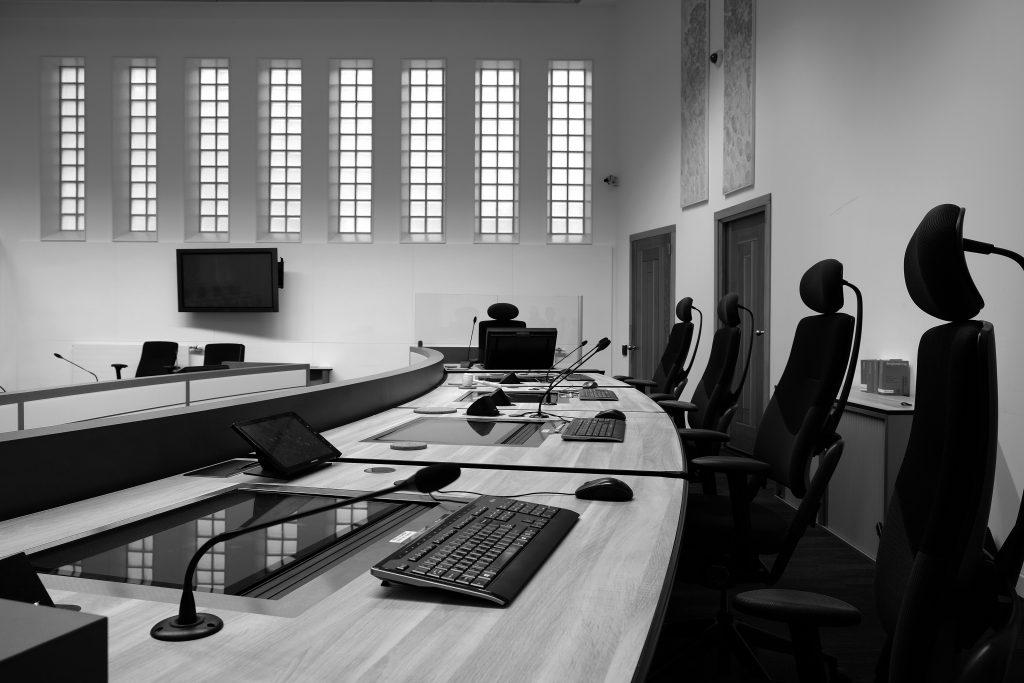 Zittingszaal Nummer 18 Rechtbank Noord Nederland, Groningen