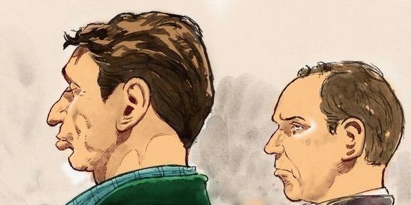 Vandros proces tegen Willem Holleeder © Aloys Oosterwijk